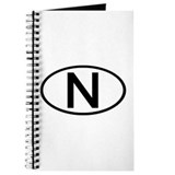 Norway - N Oval Journal