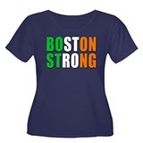 Irish Boston Pride Women's Plus Size Scoop Neck Da