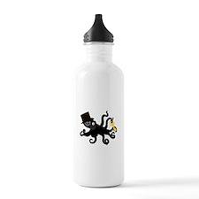 Steampunk Octopus Water Bottle