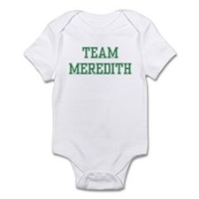 TEAM MEREDITH  Infant Bodysuit