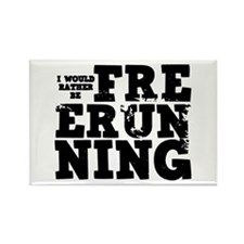 'Free Running' Rectangle Magnet (10 pack)