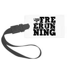 'Free Running' Luggage Tag