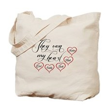 Children They own my heart Tote Bag