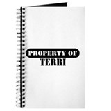 Property of Terri Journal