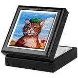 Pierre Le Chat Keepsake Box