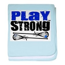 Play Strong LAX Classic baby blanket