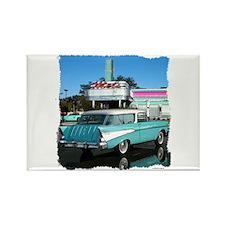1957 Chevrolet Nomad Rectangle Magnet