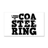 'Coasteering' Rectangle Car Magnet