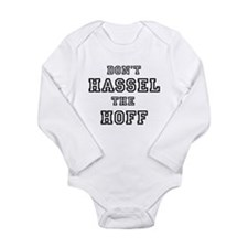 Don't Hassel the Hoff Infant Creeper Body Suit