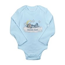 Heaven Sent! Long Sleeve Infant Bodysuit