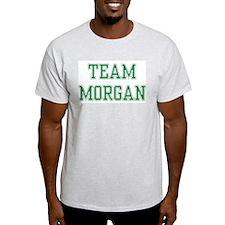 TEAM MORGAN  Ash Grey T-Shirt