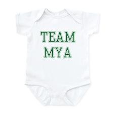 TEAM MYA  Infant Bodysuit