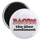 "Über Bacon 2.25"" Magnet (100 pack)"