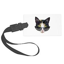 Cat Sunglasses Luggage Tag