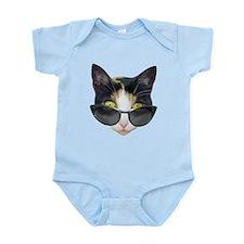 Cat Sunglasses Infant Bodysuit