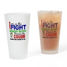 In The Fight 2 Autism Drinking Glass