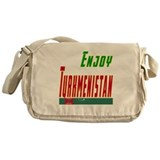 Enjoy Turkmenistan Flag Designs Messenger Bag