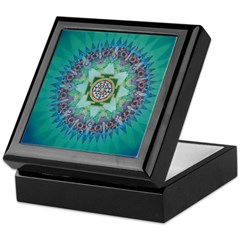 Keepsake Box Shri Yantra Mandala