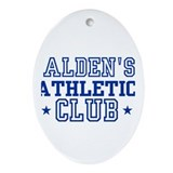 Alden Oval Ornament