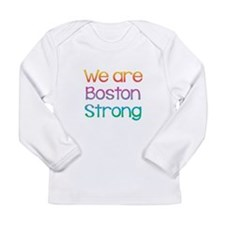 We Are Boston Strong Multi Long Sleeve Infant T-Sh