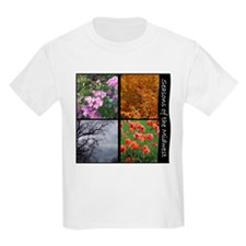 Kids T-Shirt - midwest seasons