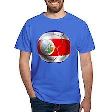 Costa Rica Soccer Ball T-Shirt