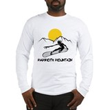Mammoth Mountain Snowboard Long Sleeve T-Shirt