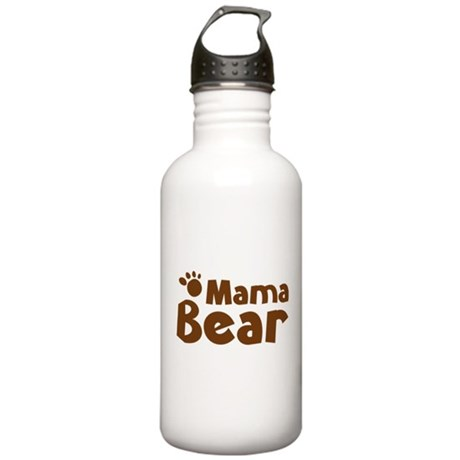 Mama Bear Stainless Water Bottle 1.0L