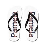 Pamela Stars and Stripes Flip Flops