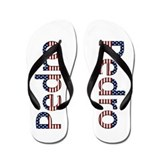Pedro Stars and Stripes Flip Flops