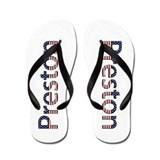 Preston Stars and Stripes Flip Flops