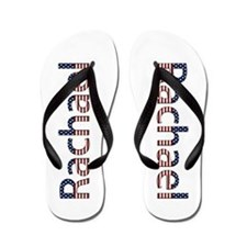 Rachael Stars and Stripes Flip Flops