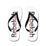 Rebekah Stars and Stripes Flip Flops