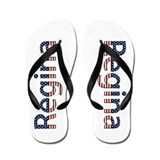 Regina Stars and Stripes Flip Flops