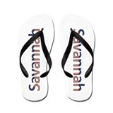 Savannah Stars and Stripes Flip Flops