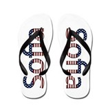 Sofia Stars and Stripes Flip Flops