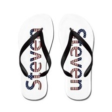 Steven Stars and Stripes Flip Flops