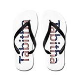 Tabitha Stars and Stripes Flip Flops