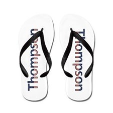 Thompson Stars and Stripes Flip Flops