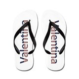 Valentina Stars and Stripes Flip Flops