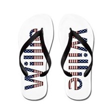 Willie Stars and Stripes Flip Flops