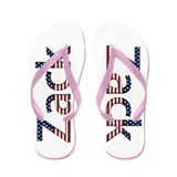 Zack Stars and Stripes Flip Flops