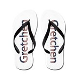 Gretchen Stars and Stripes Flip Flops