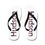 Hudson Stars and Stripes Flip Flops