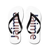 Jaime Stars and Stripes Flip Flops