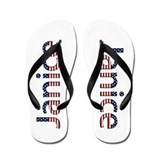 Janice Stars and Stripes Flip Flops