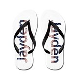 Jayden Stars and Stripes Flip Flops