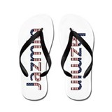 Jazmin Stars and Stripes Flip Flops