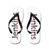 Jenkins Stars and Stripes Flip Flops