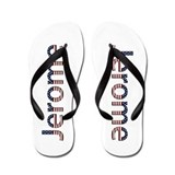 Jerome Stars and Stripes Flip Flops